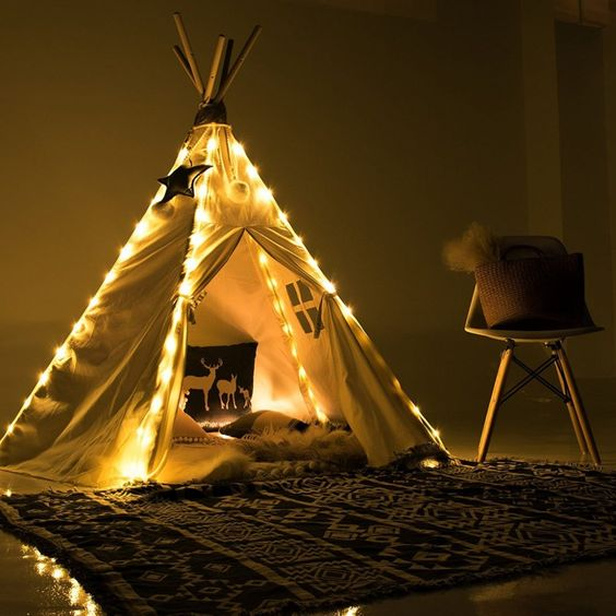 Fairy Lights for Teepee Tents - Amazon