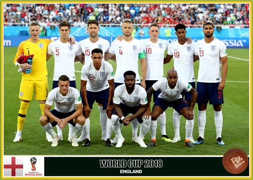 Fan Pictures 2018 Fifa World Cup Russia England Team England