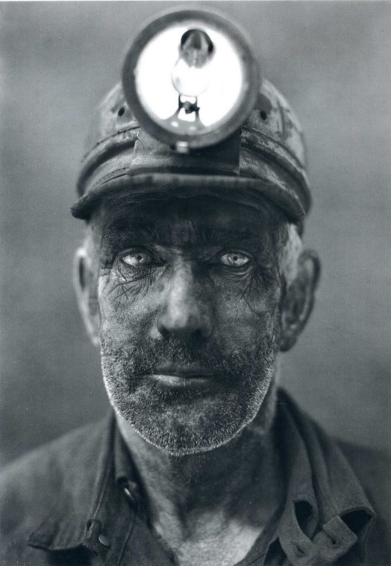 Coal Miner,   Omar, West Virginia (1938)   National Geographic