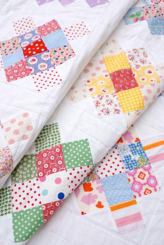 Messy Jesse's granny quilt...I love it!!!