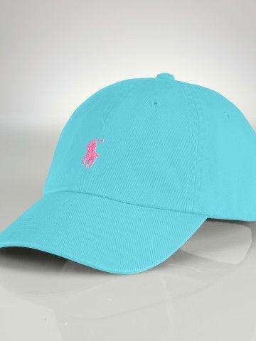 Create Your Own Ralph Lauren baseball cap- pick your colors, monogram, & pony! so cool!