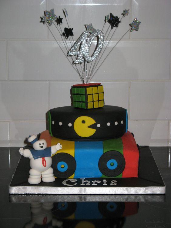40th birthday cakes, Rubik's cube and Birthday cakes on ...