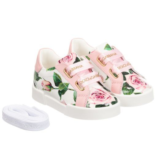 Pink Patent Leather Trainers | Ladies
