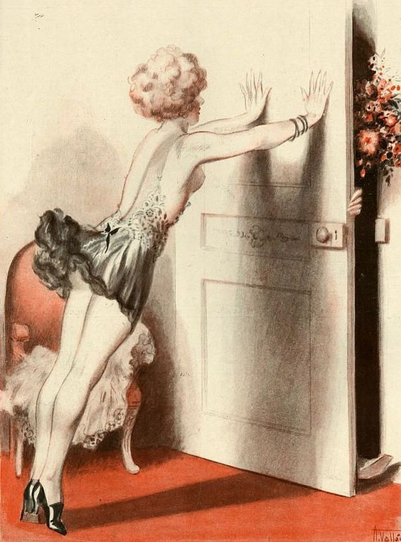 Illustration by Armand Vallee For La Vie Parisienne 1920s