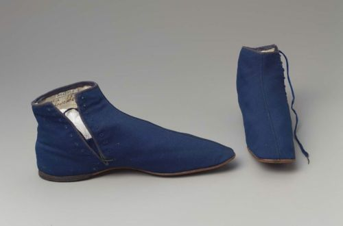 Boots, ca 1850 France, MFA Boston