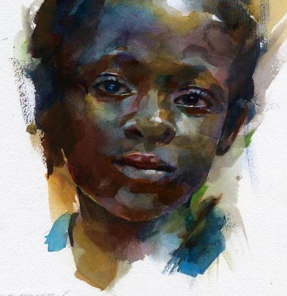 Best Watercolor Portraits By Famous Artists - Fine Art Blogger: