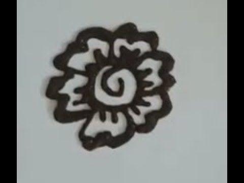 Flower Mehndi Class Flower Easy Mandala Gol Mehndi Designs For Hands F Henna Designs Easy Mehndi Designs Simple Henna