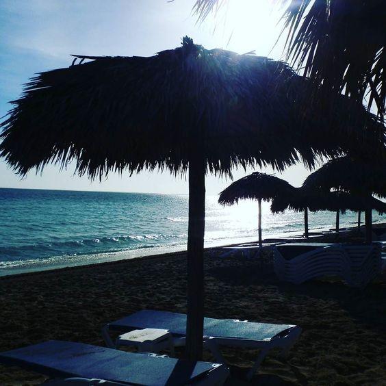 The sunny Caribbean Sea. #Cuba #varadero #azureblue #caribbean #beach #holiday #sea #meliamarina by helenamarywilliams