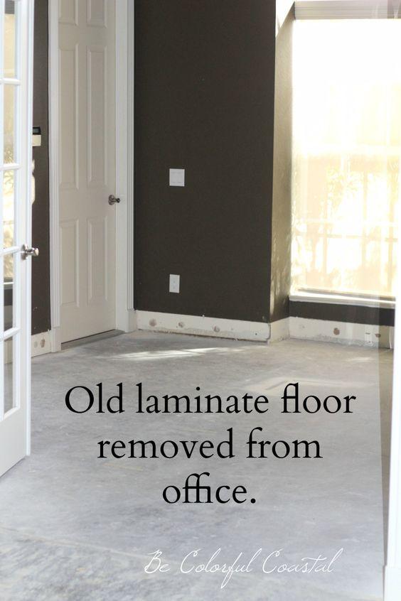 Florida Remodel Removing Old Clicking Fake Looking Laminate