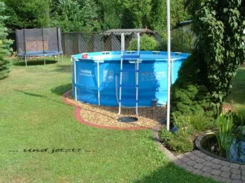 Projekt Pool Bestway Steel Pro Frame Pool 366 X 122 Youtube Pool Outdoor Pool Bestway