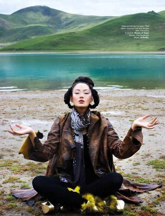 Zhang Fan for Harper's Bazaar Indonesia November 2010 by Nicoline Patricia Malina by tracy sam