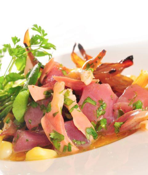 Tuna & Razor Clams Ceviche
