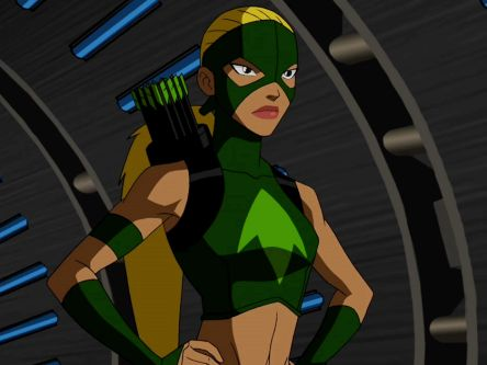 Artemis from Young Justice. I love her attitude.