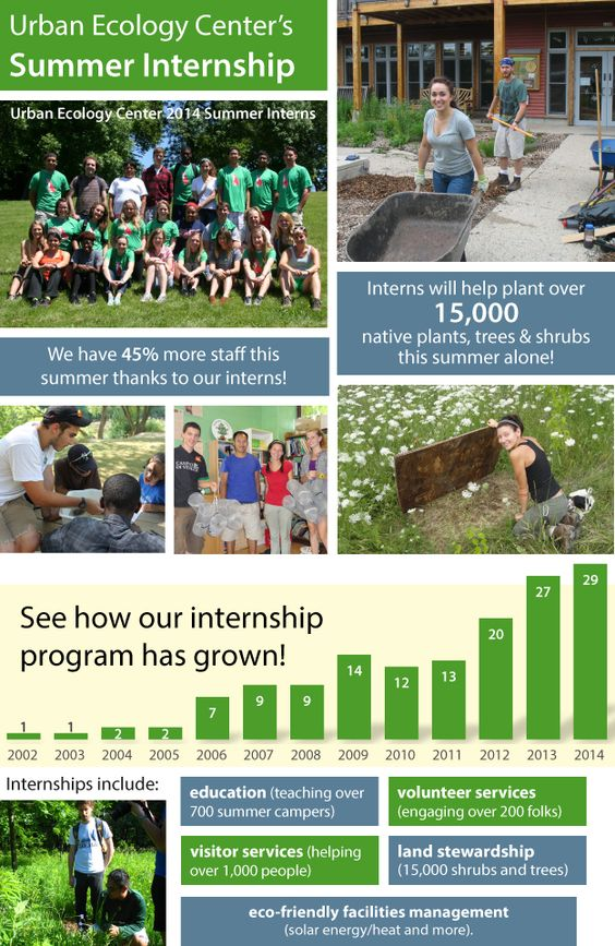 See for Yourself: Summer Interns at the Urban Ecology Center