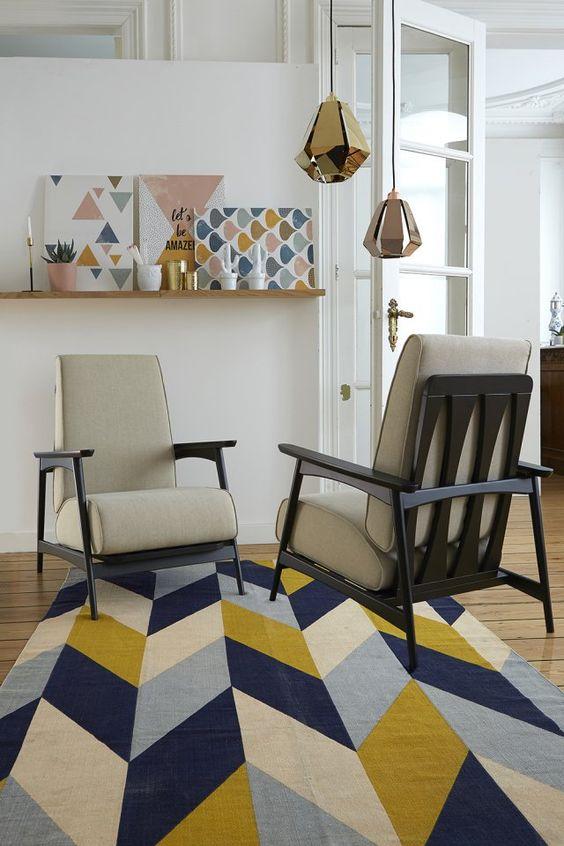 Des fauteuils rétro, La Redoute Intérieurs: