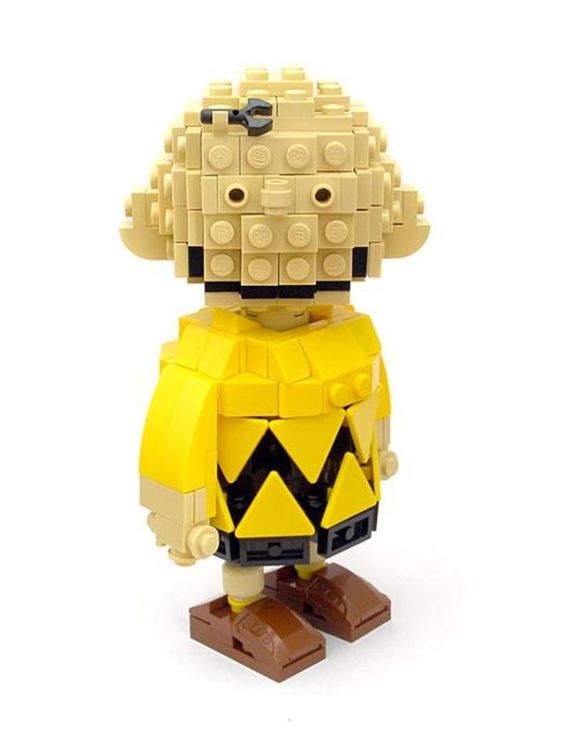 20 Creative Lego Creations. LEGO Charlie Brown.