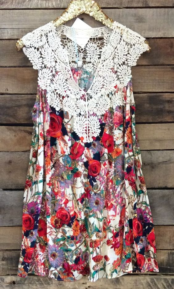 Bloom Where You Are Planted   Women's Dress