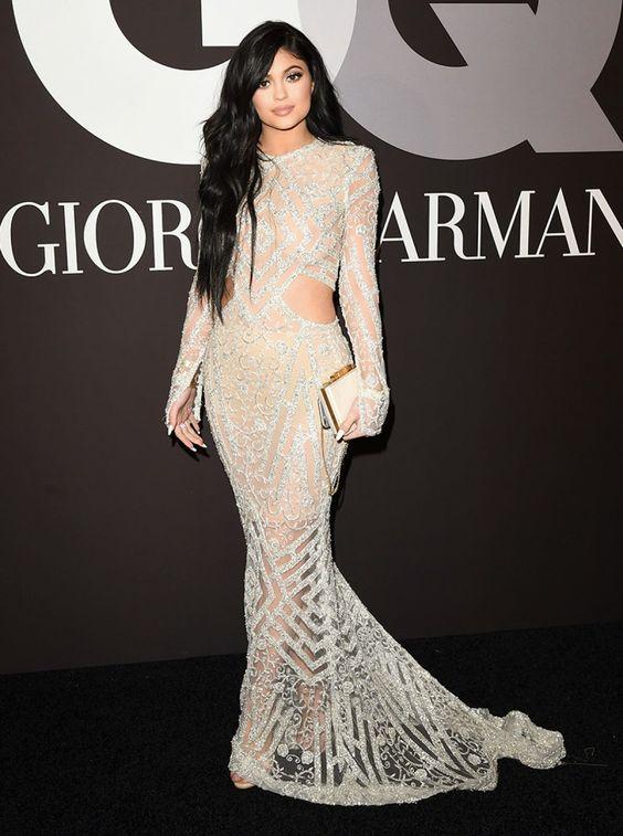 Kylie Jenner no after party do Grammy Awards: