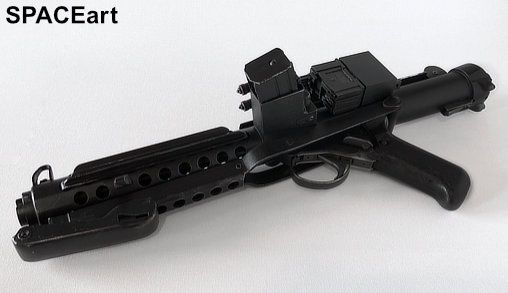 Star Wars Custom Stormtrooper E-11 Blaster Rifle from ROTJ made using LEGO parts