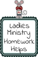 Ladies Ministry Helps