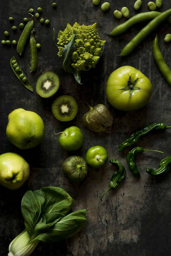 Les fruits et légumes verts sont excellents pour la santé ! Encore plus s'ils sont cuisinés à la plancha.: