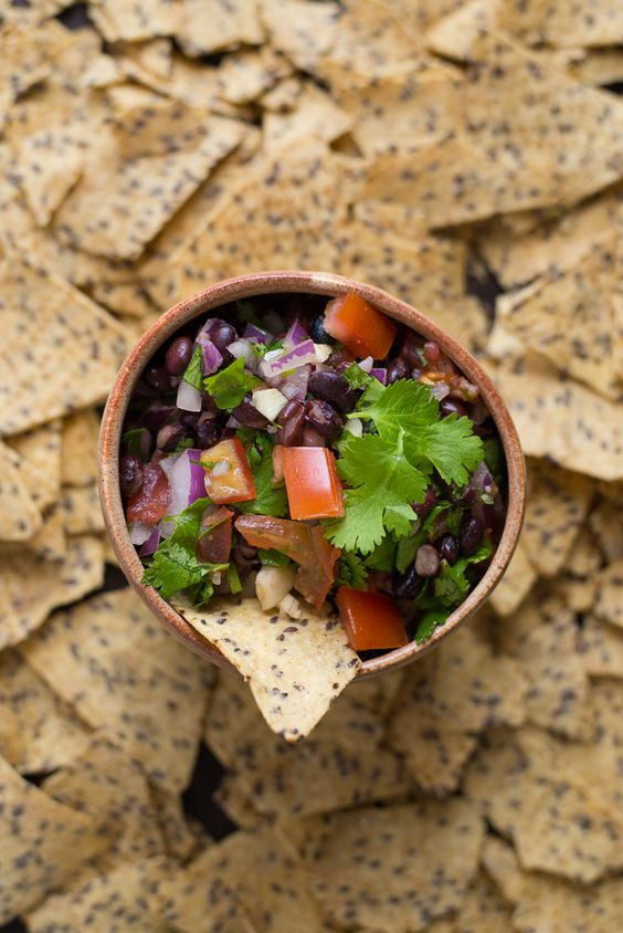 Fresh Black Bean Dip