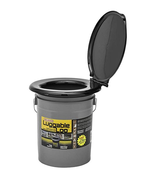 Amazon Com Reliance Products Luggable Loo Portable 5 Gallon