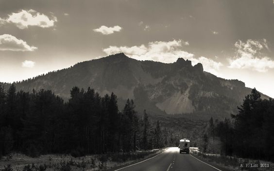Paulina Peak & Camper by A. F. Litt, via 500px