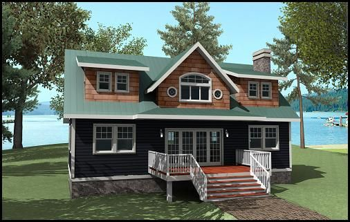 Ontario home and beautiful on pinterest for Cottage construction plans