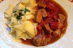 Malzbier - Gulasch, ein sehr schönes Rezept aus der Kategorie Gemüse. Bewertungen: 160. Durchschnitt: Ø 4,4.