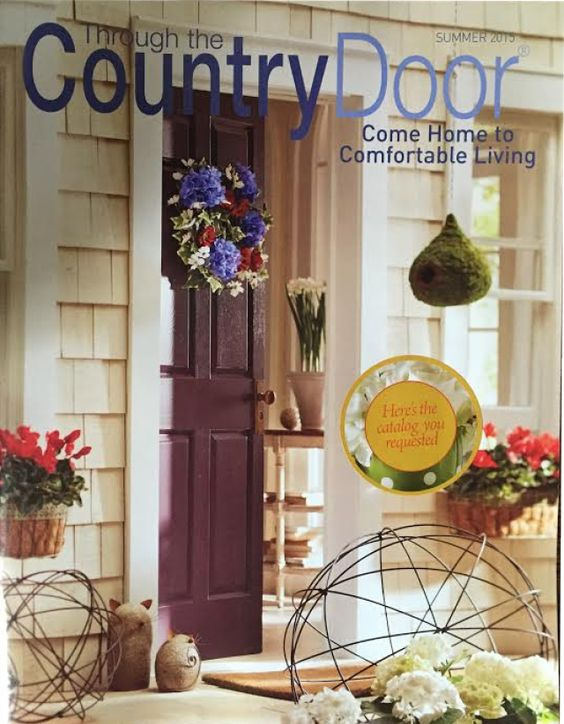 Home decor catalogs catalog and home decor on pinterest for House door designs catalogue