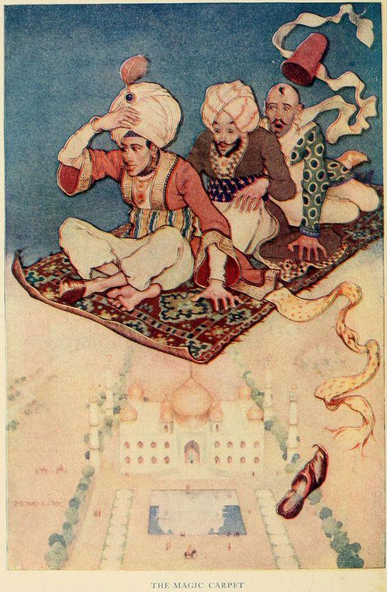 The Magic Carpet - Monro S. Orr