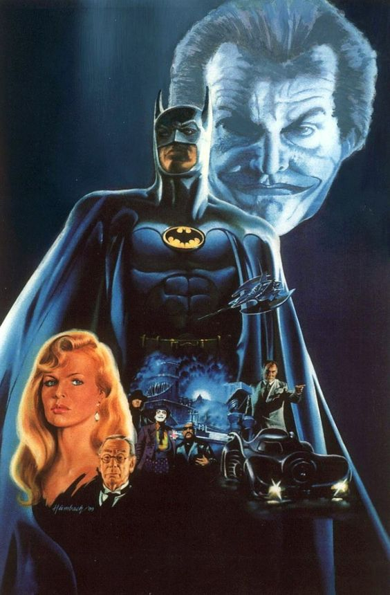 Batman superman movie fan art batman 1989 movie poster - Super batman movie ...