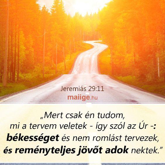 Isten útja a keskeny út. Ne térj le arról se jobbra, se balra