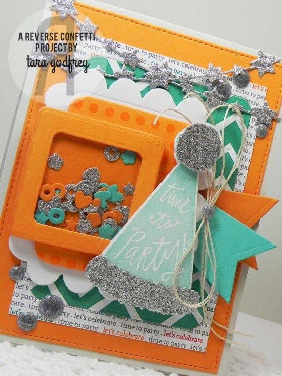 Inking on the Edge: Reverse Confetti...May RC Birthday Blog Hop...Part...