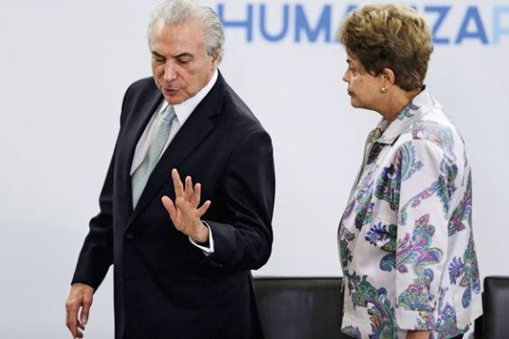 RB: Quebra de confiança: Temer e Dilma não se entendem...