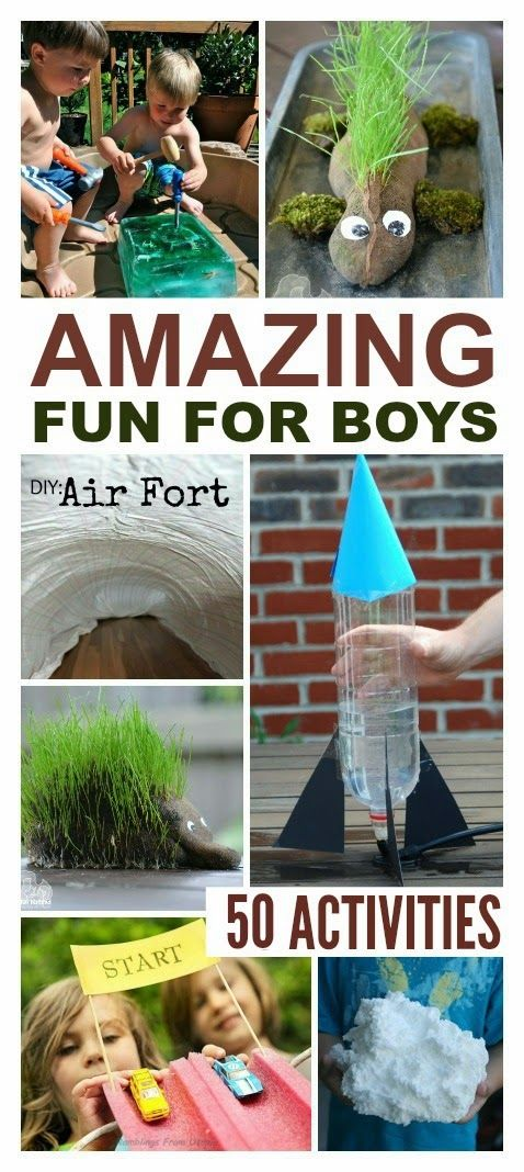 Amazing Fun for Boys!!: