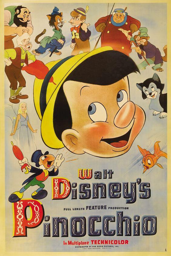 ディズニー映画のピノキオという映画