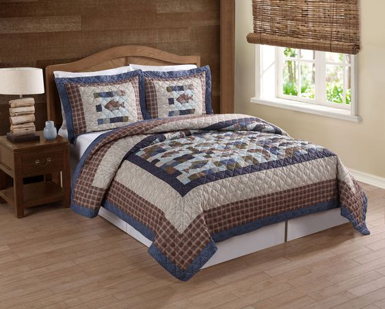 Every Avid Angler Will Love This Fishing Themed Quilt Set