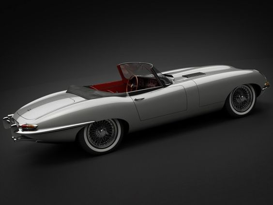 1961 Jaguar E-Type 3.8 Roadster