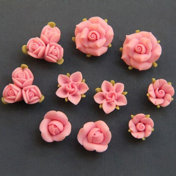 flower clay tutorial - photo #42