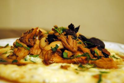 From Everyday to Gourmet: Chicken and Wild Mushroom Marsala over Parmesan-Herb Polenta