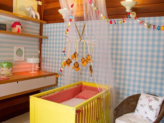 Como decorar um quarto de beb bel lobo ensina dicas - Como decorar cuarto de bebe ...