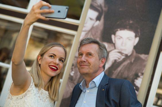 Selfie mit Christian Wulff