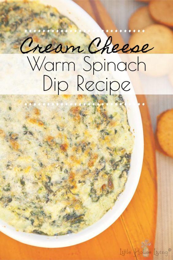 Cream Cheese Spinach Dip