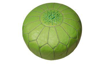apple #Green Moroccan #Pouf - $295