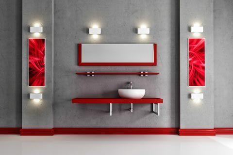 Farben Die Zu Rot Passen Welche Farben Passen Zu Rot Badezimmer Themen Rote Badezimmer Rotes Zimmer