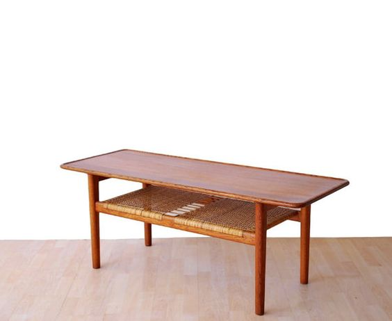 Hans Wegner for Andreas Tuck Model AT-10 Coffee Table by teakhound