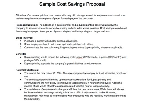 How to Write a Proposal and Get What You Want Business Process - policy proposal template