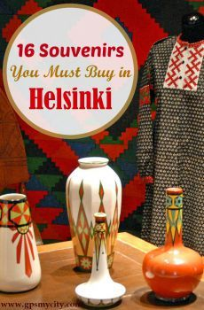 What to buy in Helsinki? This Helsinki shopping guide presents 16 traditional Finnish products that will provide a great and lasting memory of Finland.